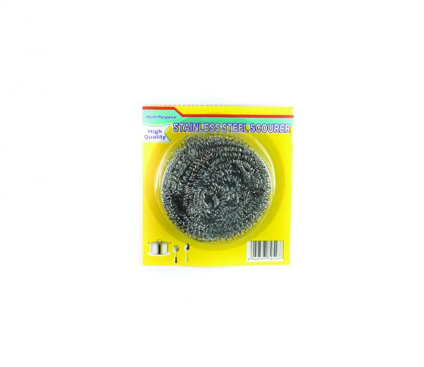 Home-Care-Scourer-Stainless-Steel-Yellow