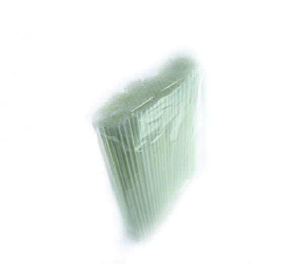 Tableware-Drinking-White-Straw